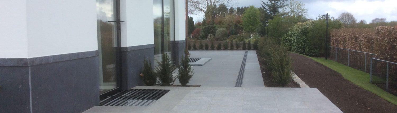 Aanleg moderne tuin
